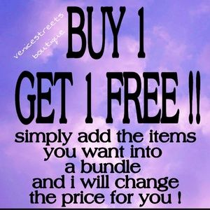 Bogo free sale!These prices are 2 good to pass up!